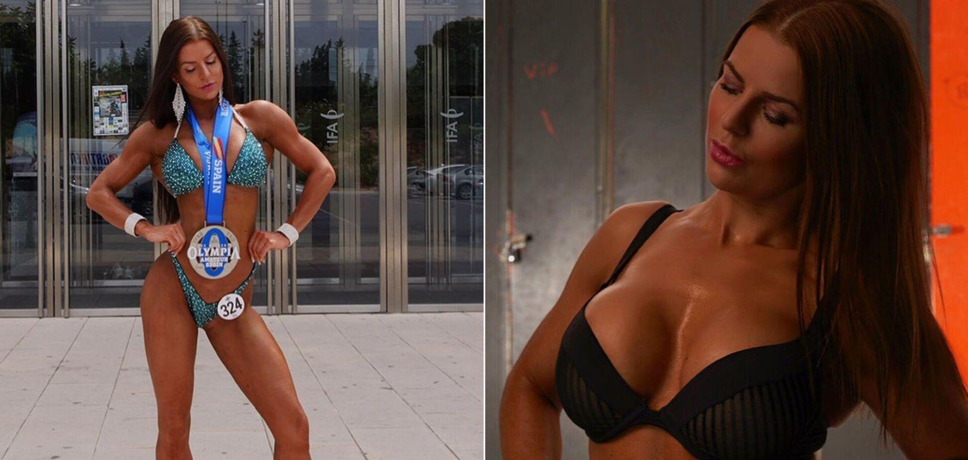Датська фітнес-модель знялася в незвичайному 'голому' купальнику