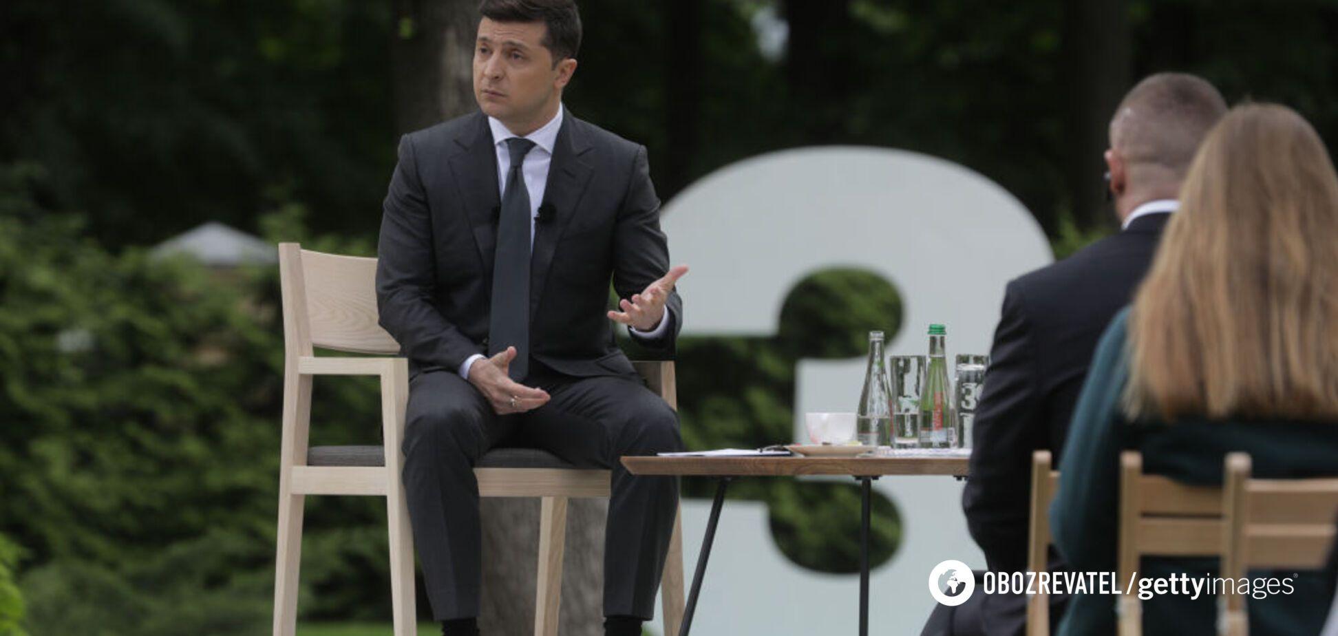 Лише 3,5 млн українців дивилися прес-конференцію Зеленського