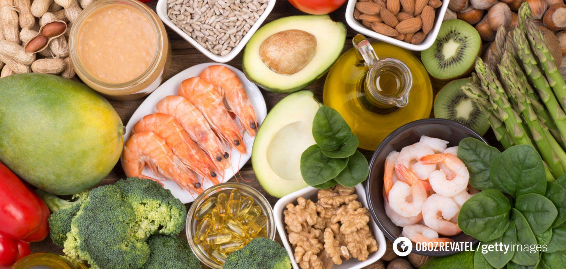 Вітамін Е: озвучено користь для організму і продукти, в яких він міститься