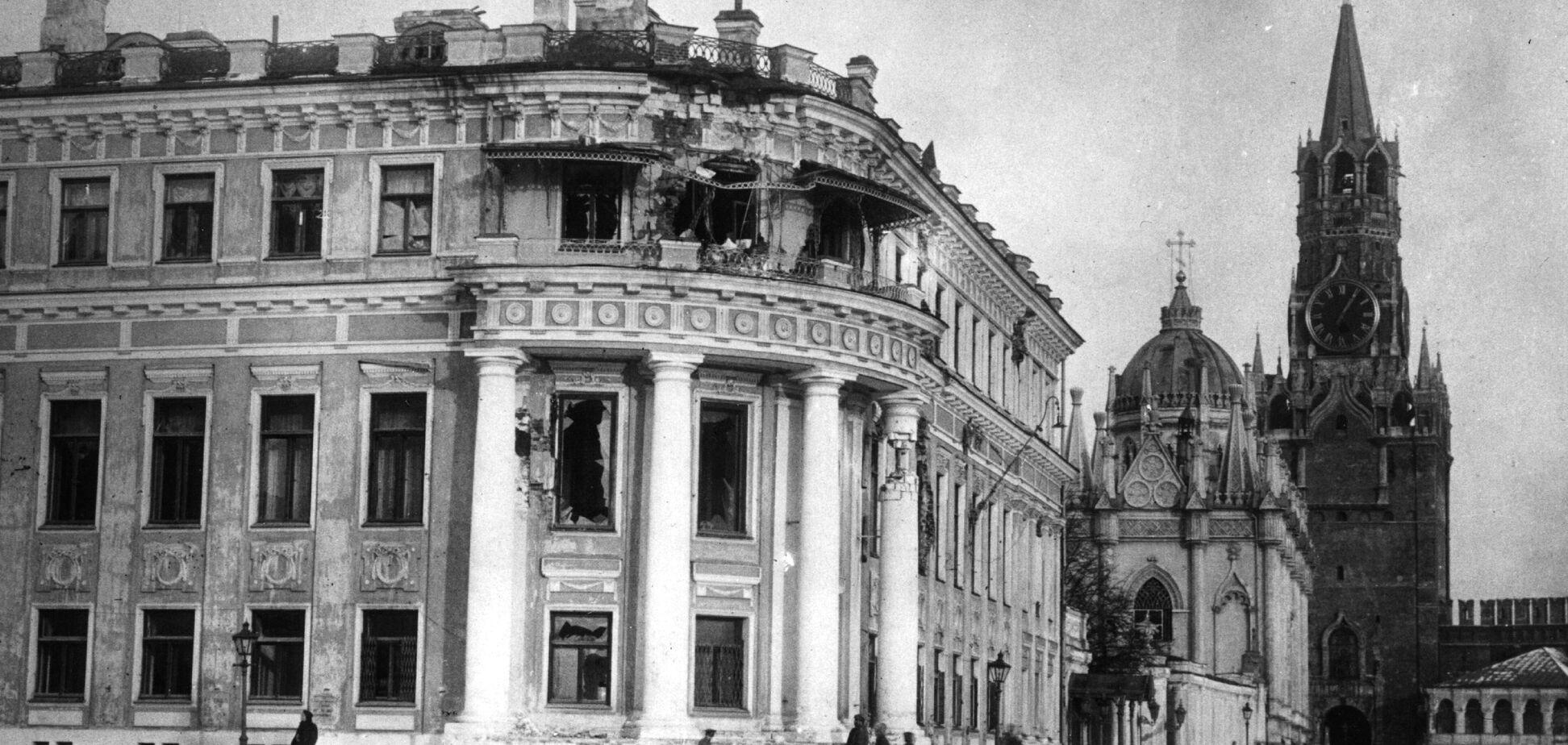 Началом национальной катастрофы России стал октябрь 1917 года