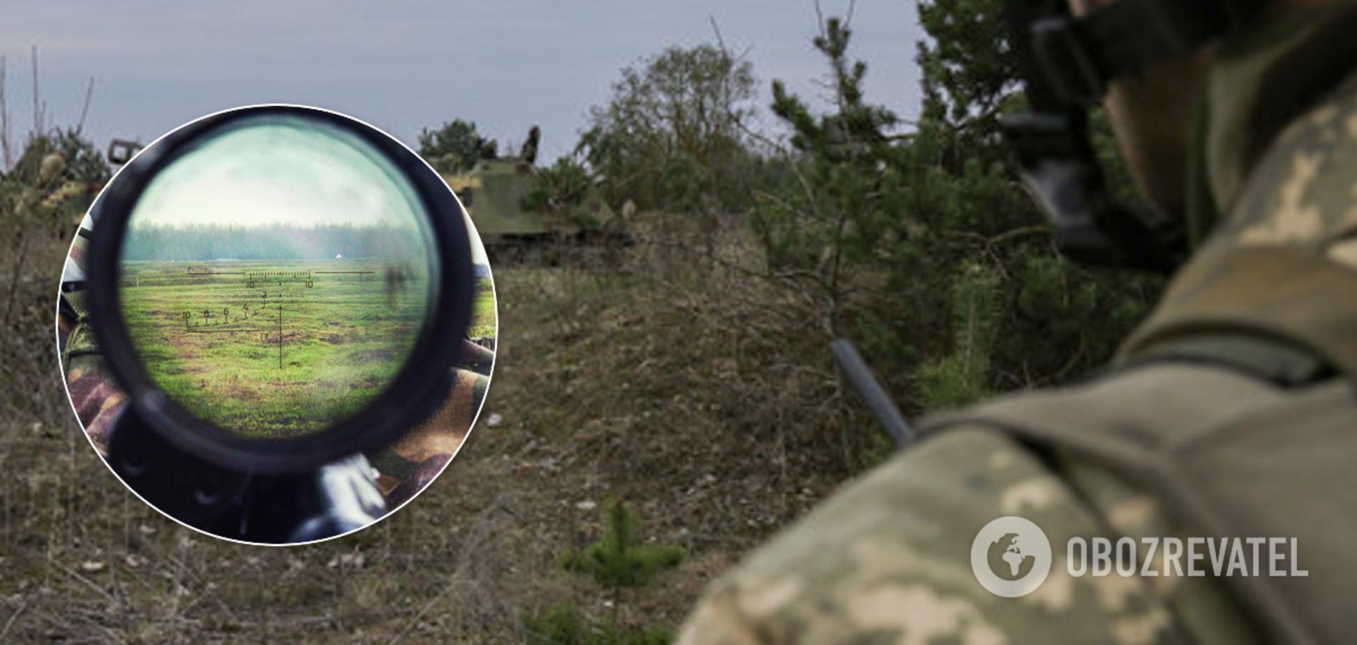 Снайпери обстріляли ЗСУ під Донецьком, є поранений