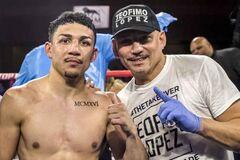 Теофімо Лопес і його батько