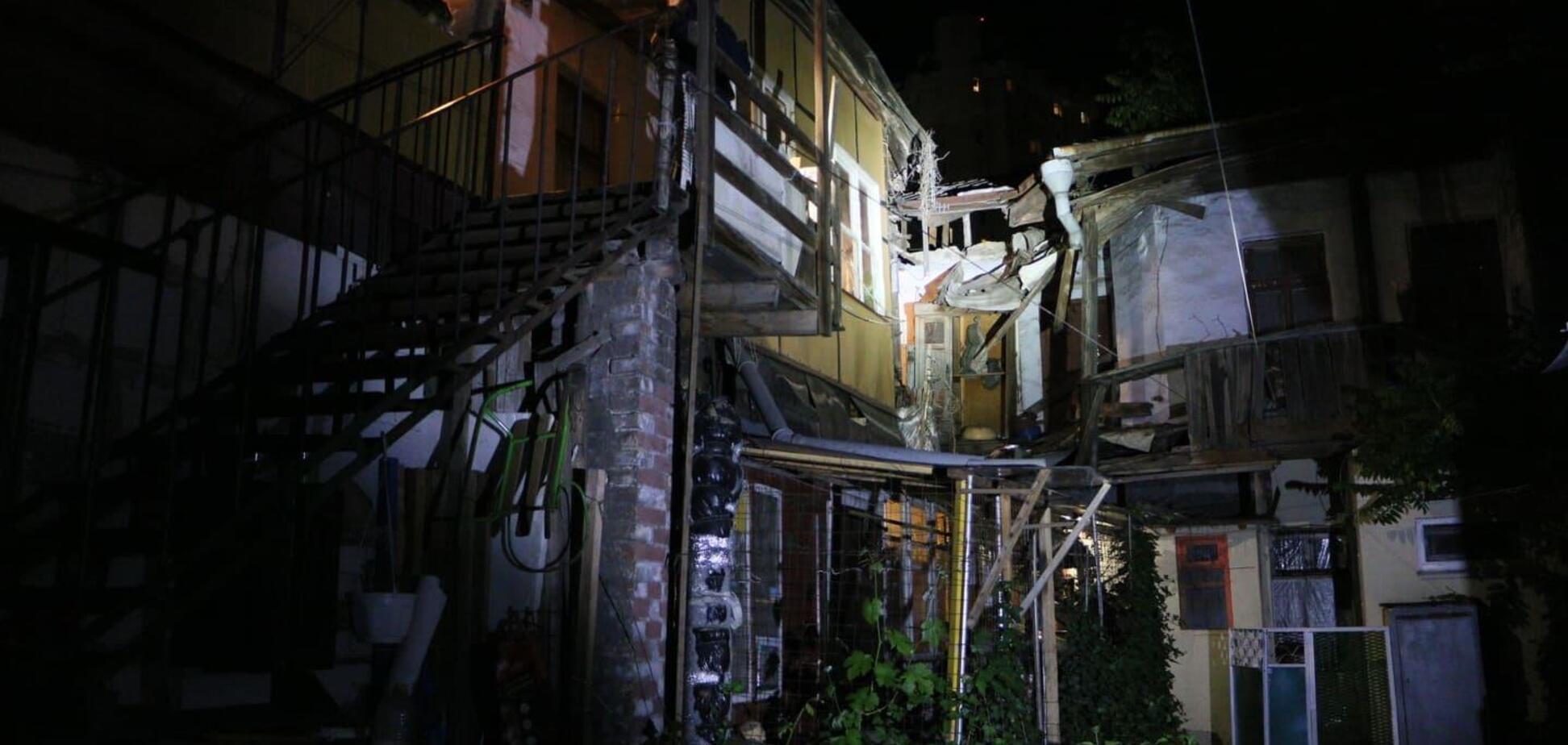 В Одесі обвалився ще один житловий будинок. Перші фото НП