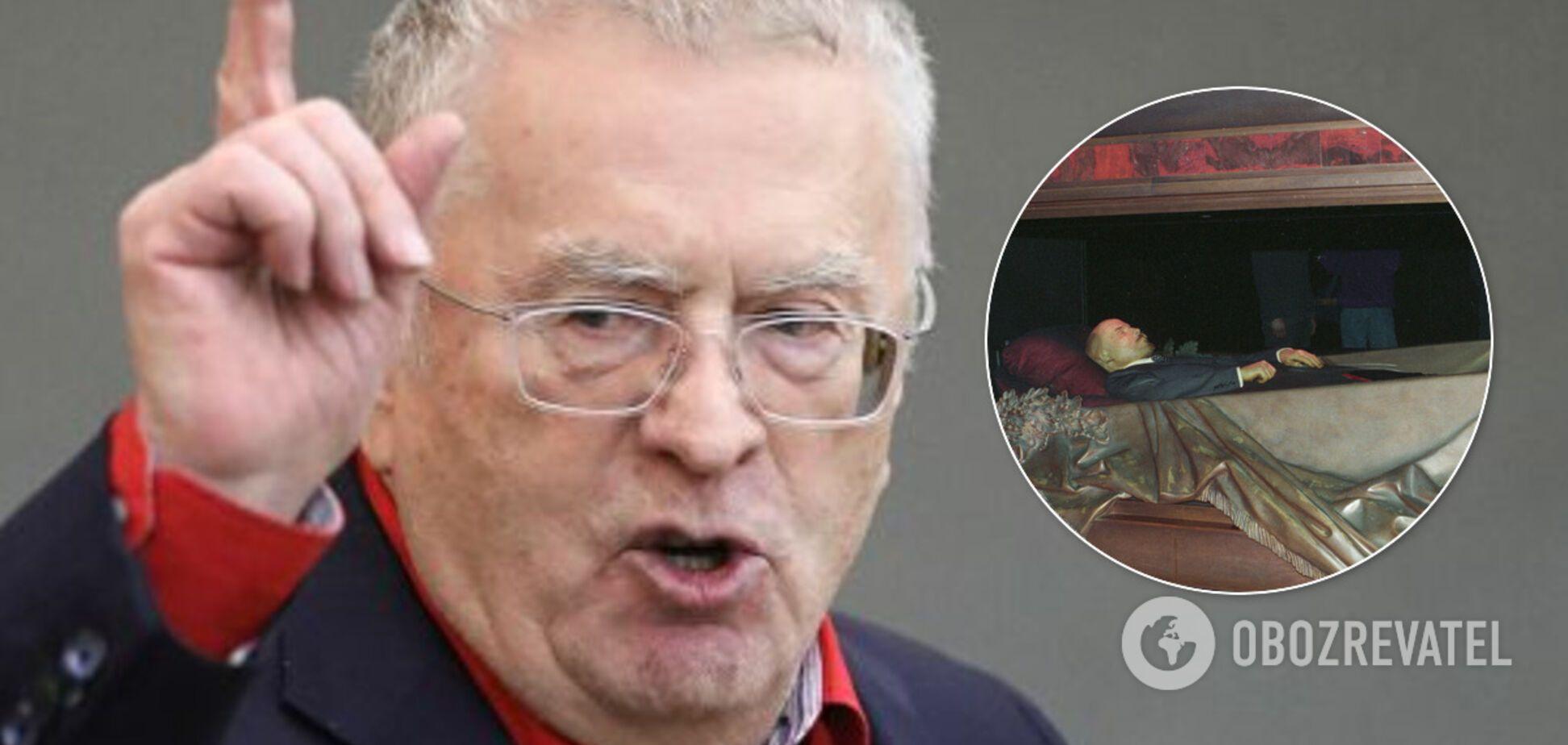 Жириновский выступил за продажу Ленина: в сети предложили возить как мощи