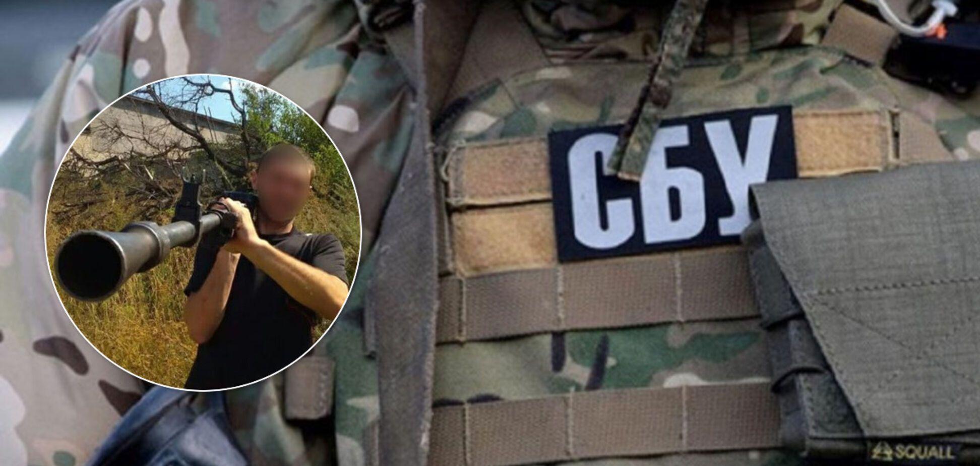 На Харківщині СБУ спіймала терориста 'ДНР': вважався танкістом