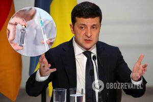 Зеленский призвал украинцев не забывать о вакцинации и предупредил о возможных вспышках