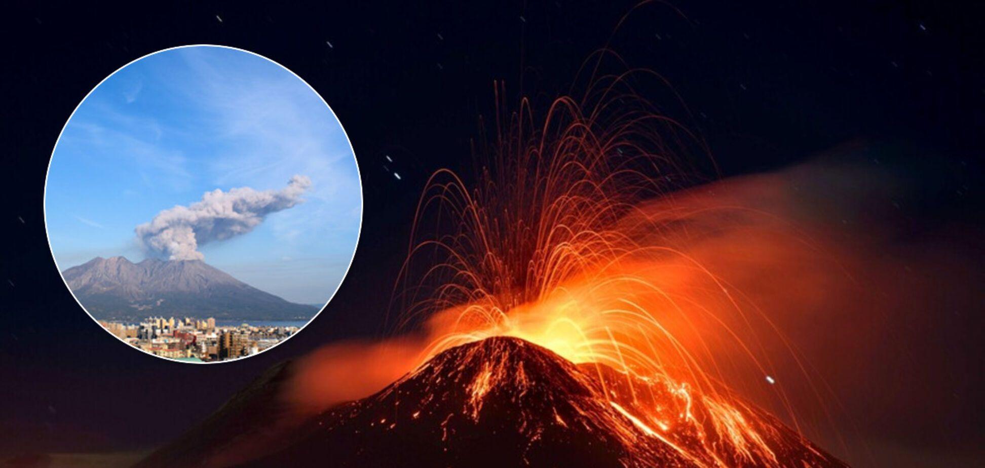 Пепел поднялся на 4,5 км: в Италии проснулся вулкан Этна. Впечатляющие фото и видео