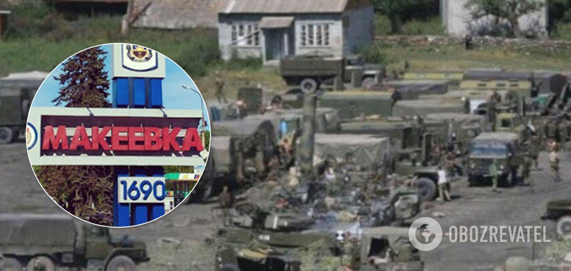 'ДНР' облаштувала військову базу серед житлових будинків, її показали на мапі