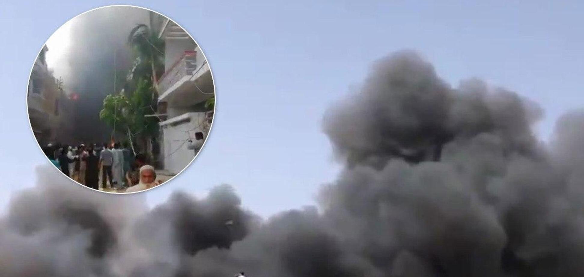 Выжили всего 2: в Пакистане обнародовали списки жертв катастрофы Airbus A320