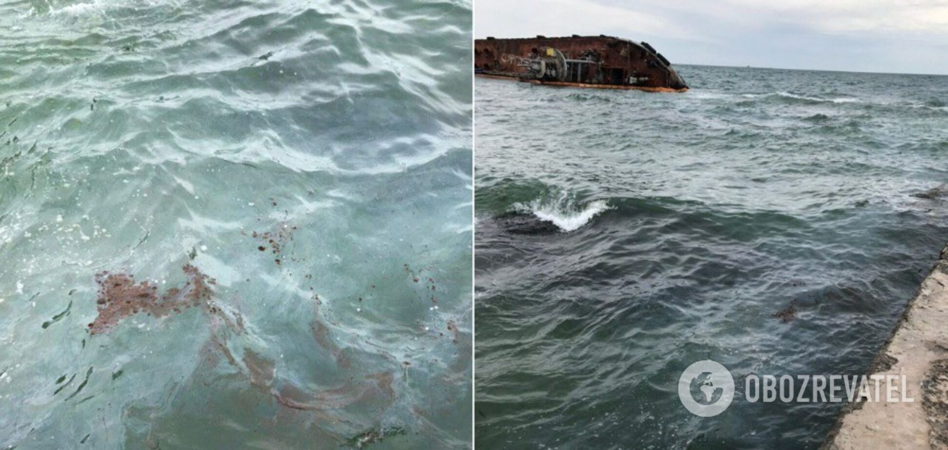 Екологічна безпека АМПУ ліквідувала забруднення біля аварійного танкеру DELFI