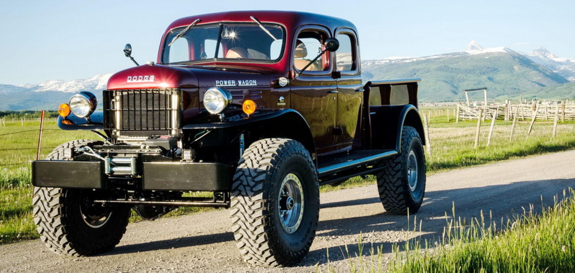 Краще ніж із конвеєра: 70-річний Dodge перетворили на стильний всюдихід
