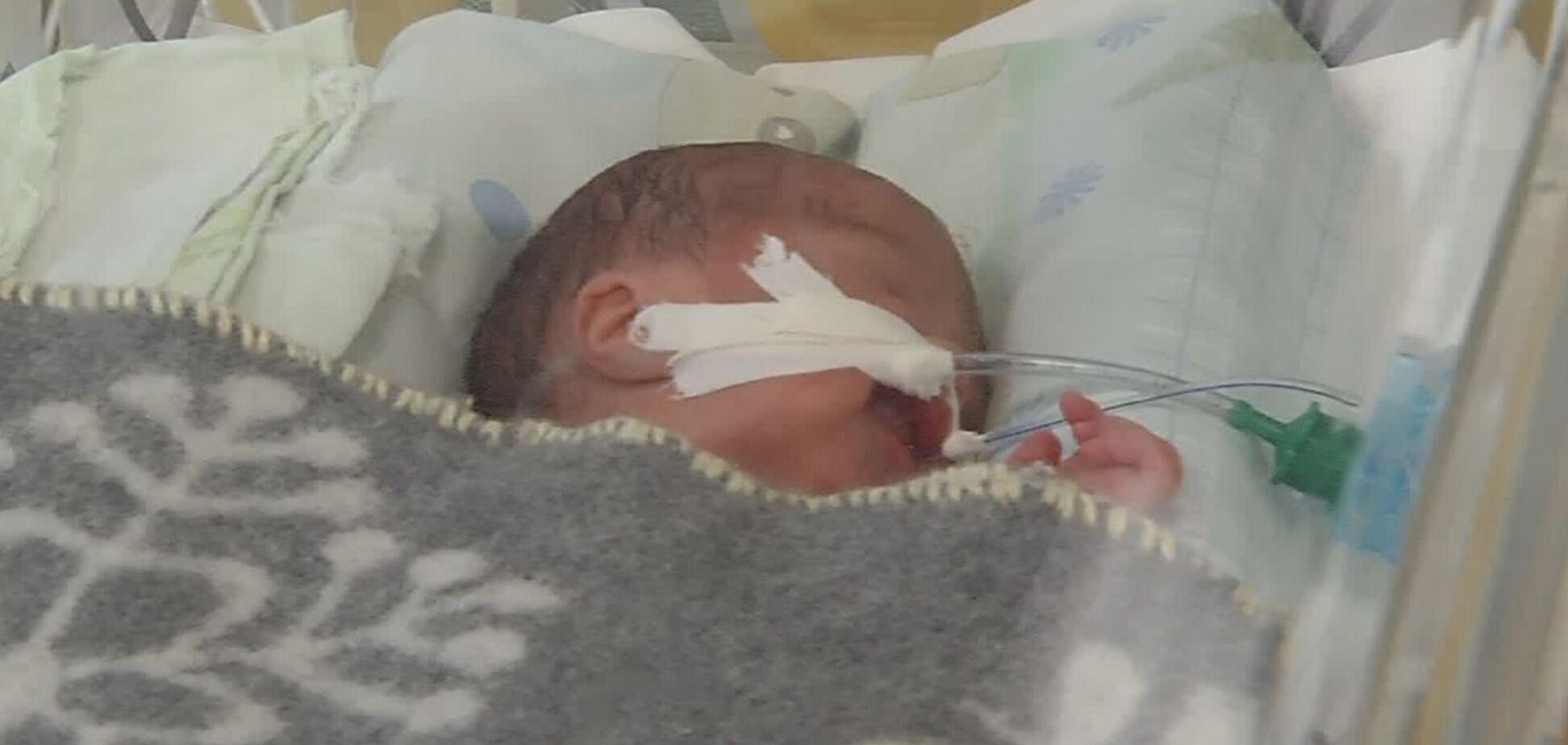 У Дніпрі батьки кинули в лікарні малюка з пороком серця: потрібна допомога