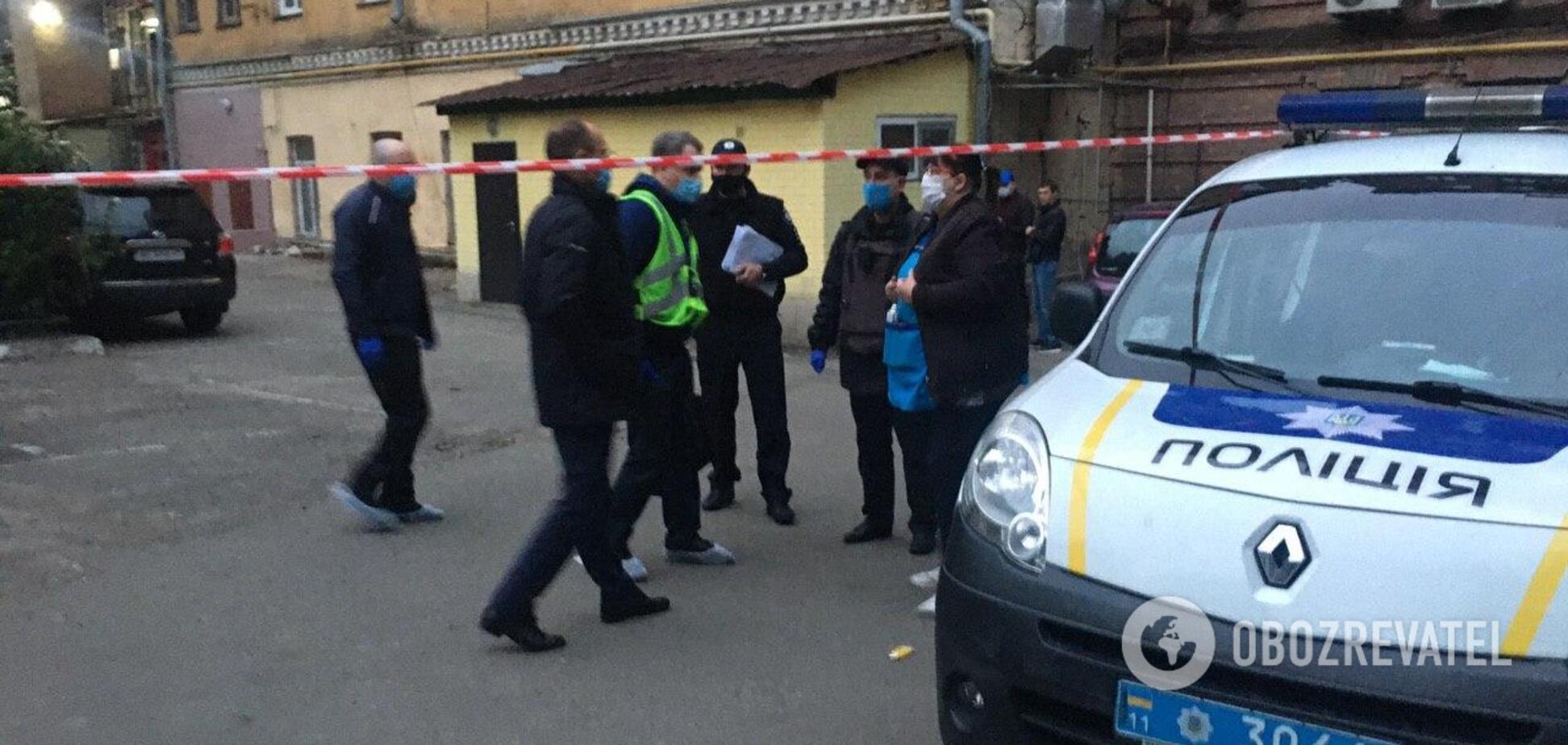 В Киеве нашли застреленным нардепа: первые кадры с места происшествия