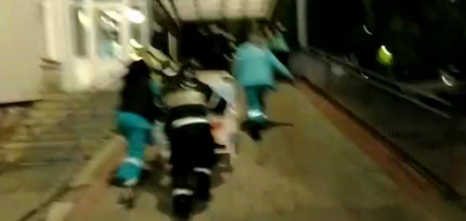 Пожежа в лікарні Зеленодольська