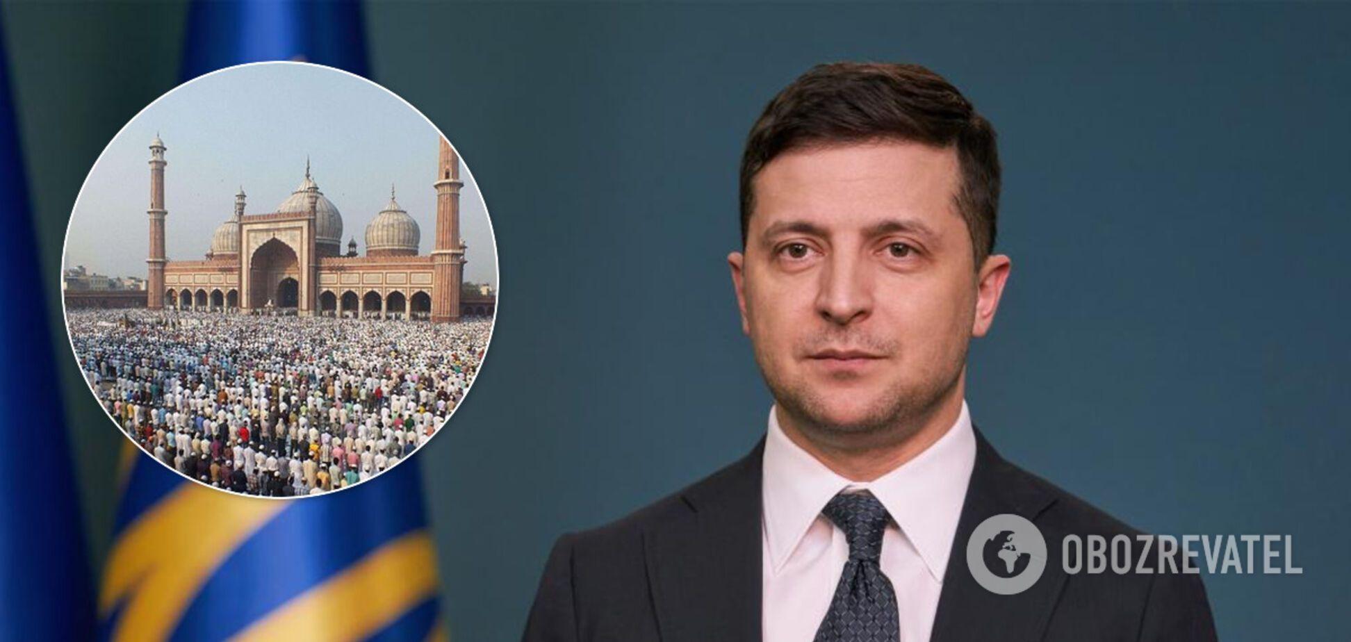Зеленський привітав українських мусульман із Ураза-байрам: що несе в собі свято