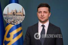 Зеленский поздравил украинских мусульман с Ураза-байрам: что несет в себе праздник