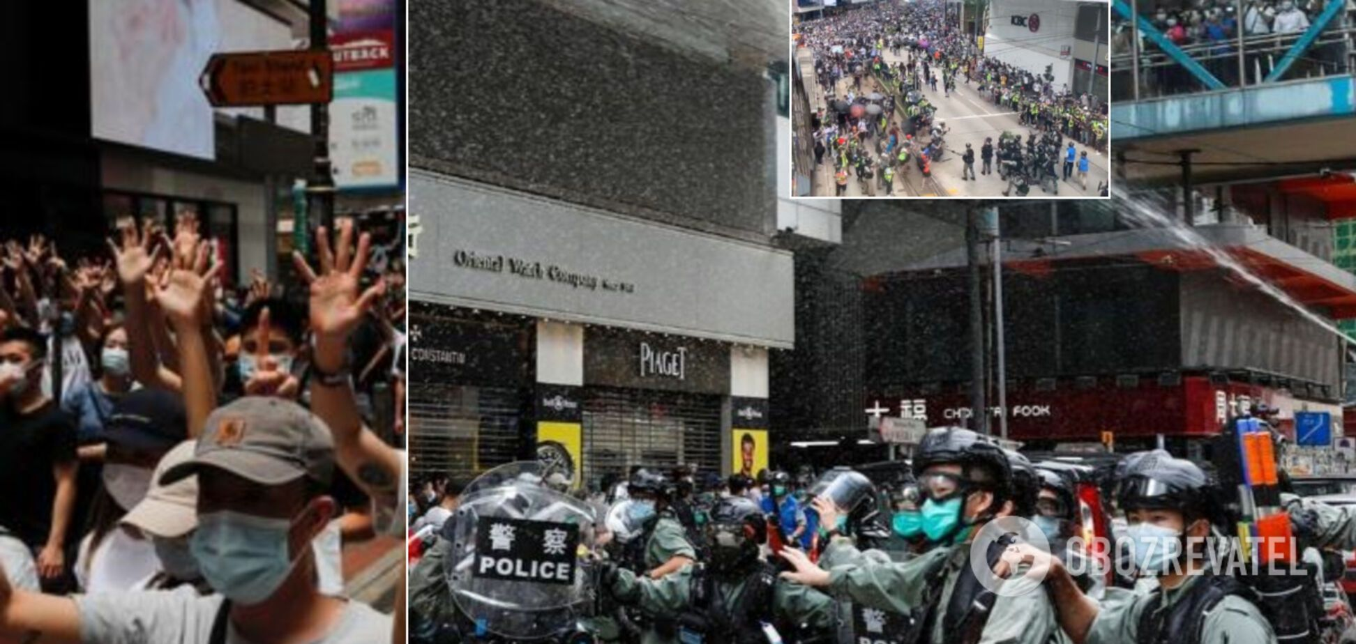 Гонконг 'вибухнув' протестами проти Китаю: тисячі людей вийшли на вулиці. Фото і відео