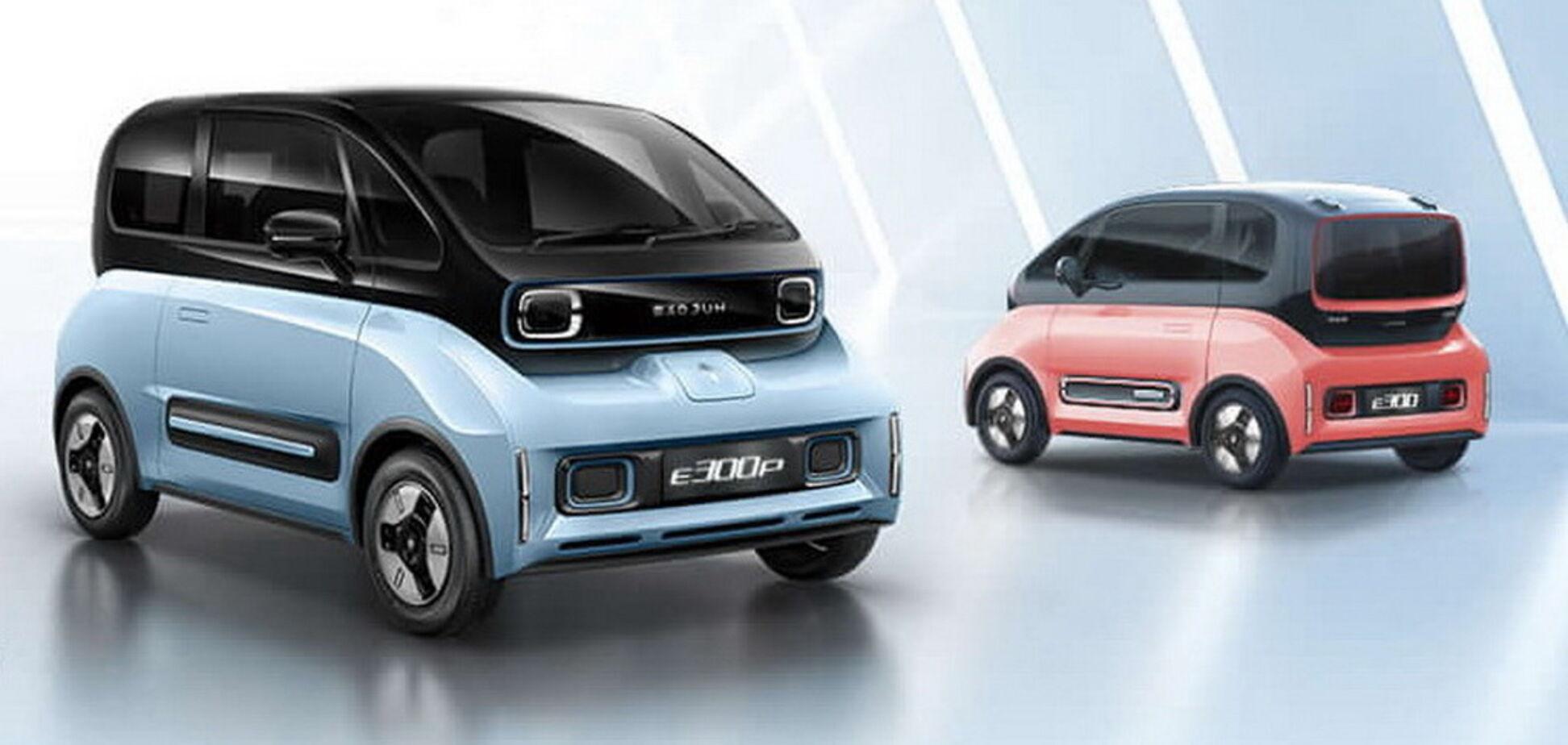 Китайський електромобіль Baojun здивував компонуванням