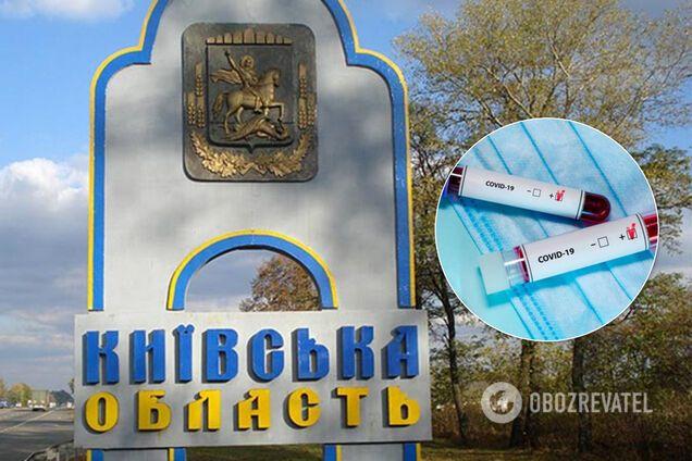 В Киевской области – более 1,6 тысячи случаев коронавируса. Иллюстрация