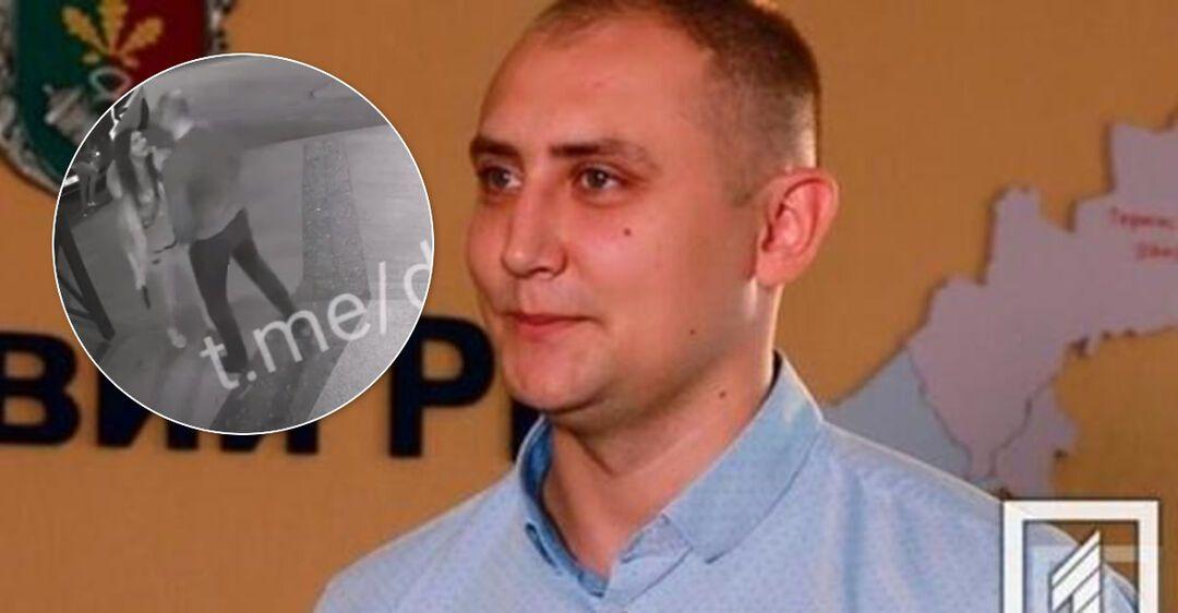 Всплыло видео с подстреленным прокурором в Кривом Роге