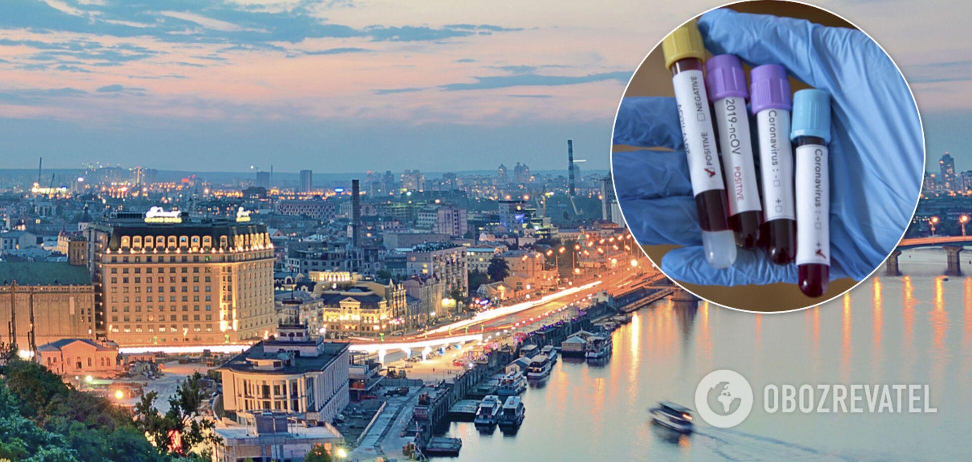 У Києві та області підтвердили понад 4 тисячі випадків COVID-19. Ілюстрація