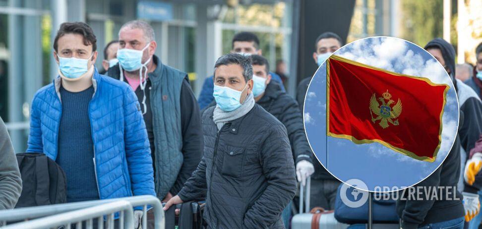 Черногория снова объявила эпидемию из-за коронавируса