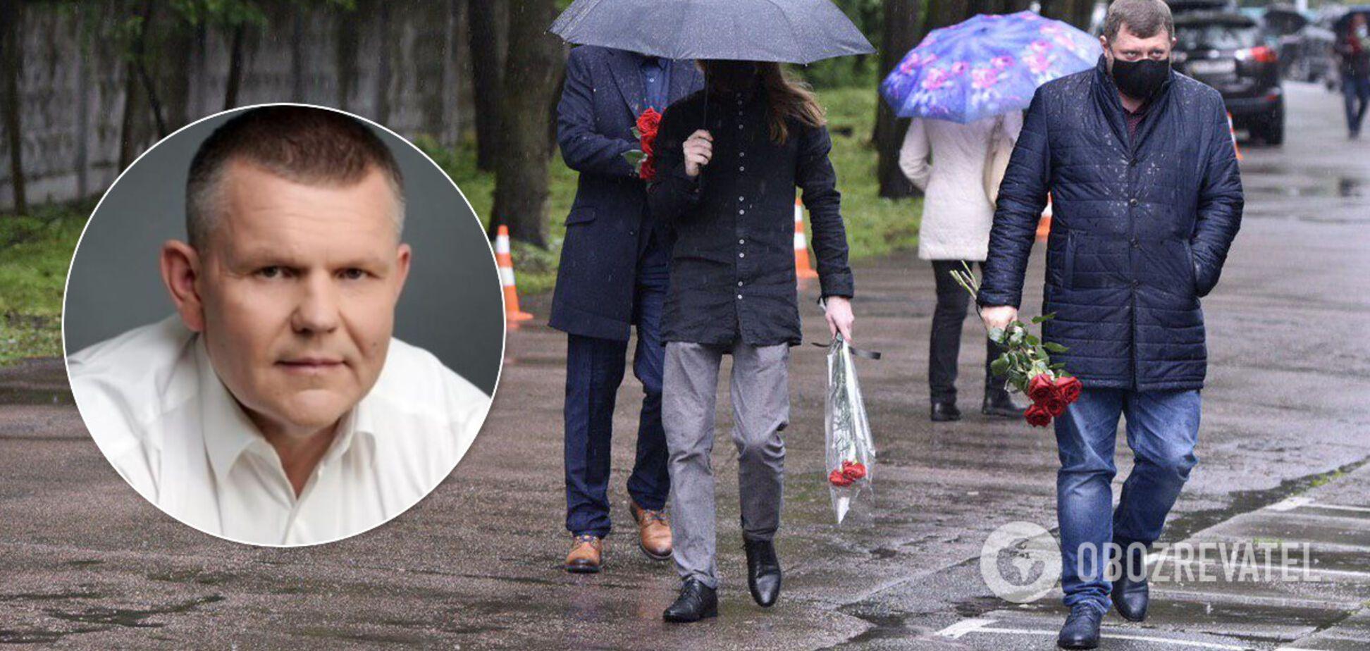 С погибшим нардепом Давыденко попрощались в 'Феофании': появились первые фото и видео