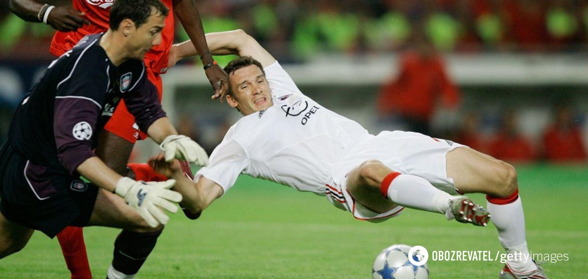'Милан' - 'Ливерпуль' финал Лиги чемпионов-2005
