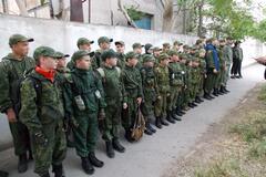 Милитаризация детей в Евпатории