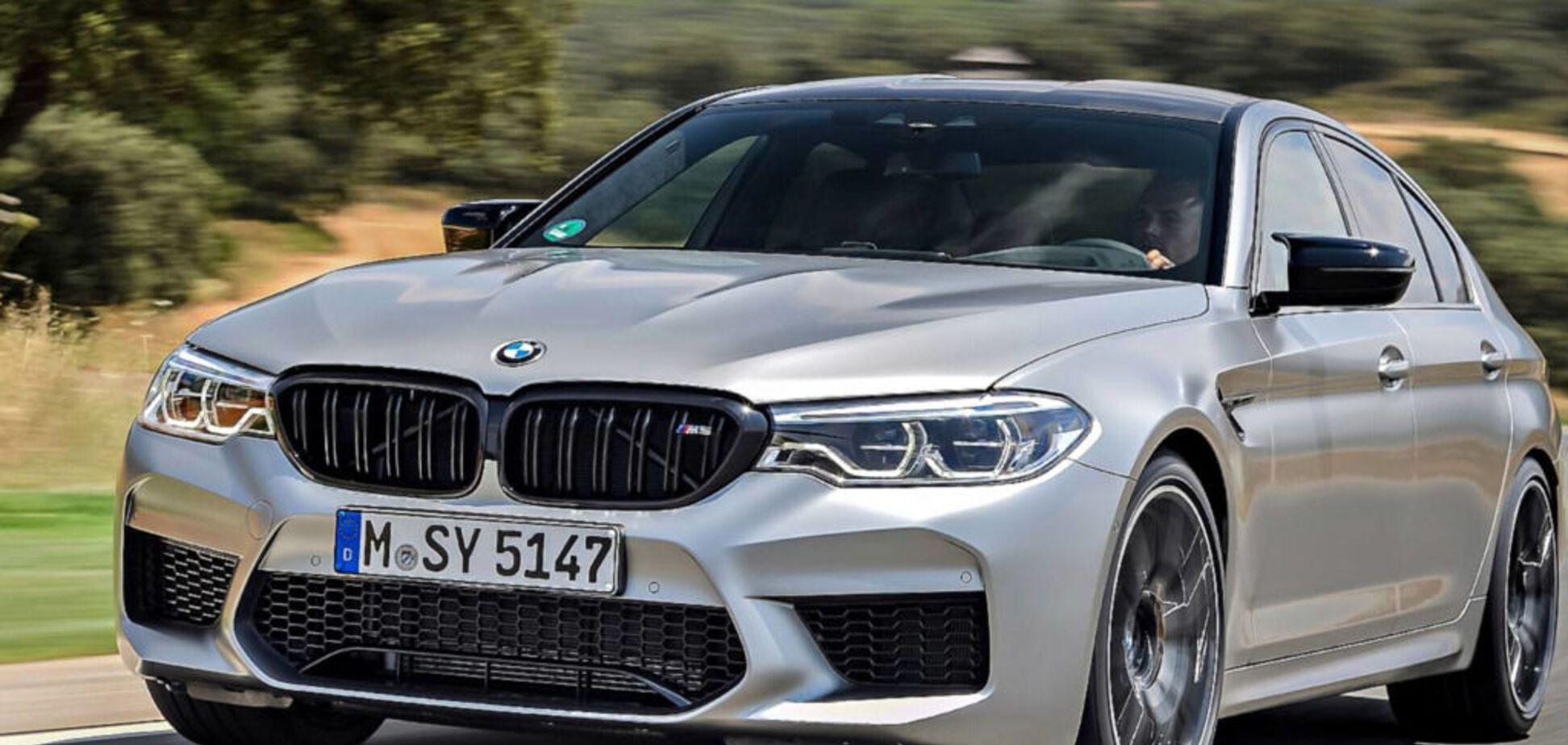 Українська митниця конфіскувала нову BMW M5 за 150 000 євро