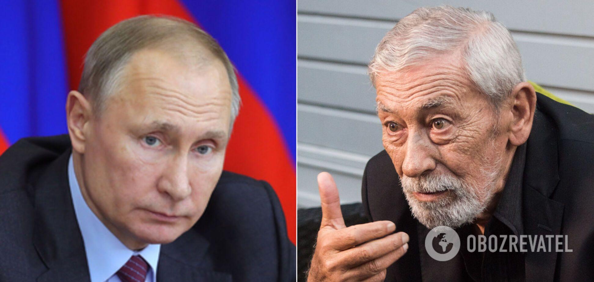 Кикабидзе о президентстве Путина: его время прошло, хватит играть в завоевателя!