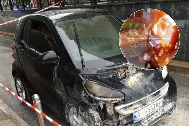 Горів і махав руками: з'явилося відео з горе-бандитами, які розстріляли у Києві іноземця