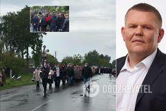 Нардепа Давиденка поховали на Чернігівщині: прийшли сотні людей. Фото
