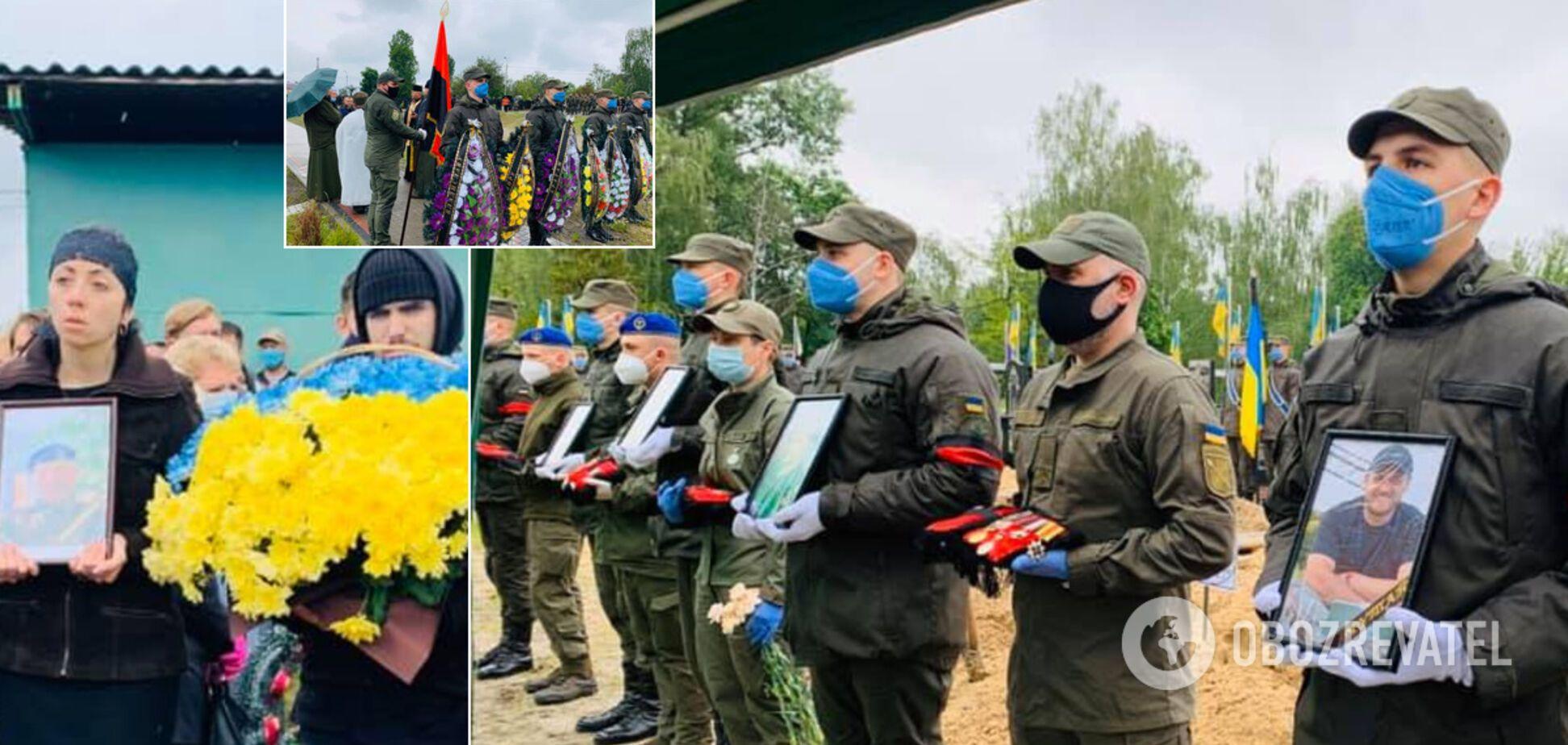 У Києві попрощалися із жертвами кривавої стрілянини на Житомирщині: сумні фото й відео