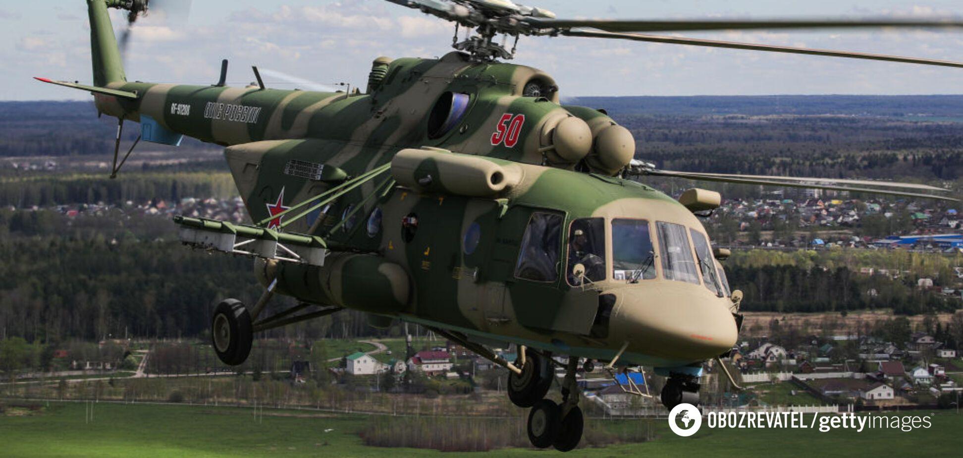 Військовий вертоліт розбився в Росії: пасажири загинули