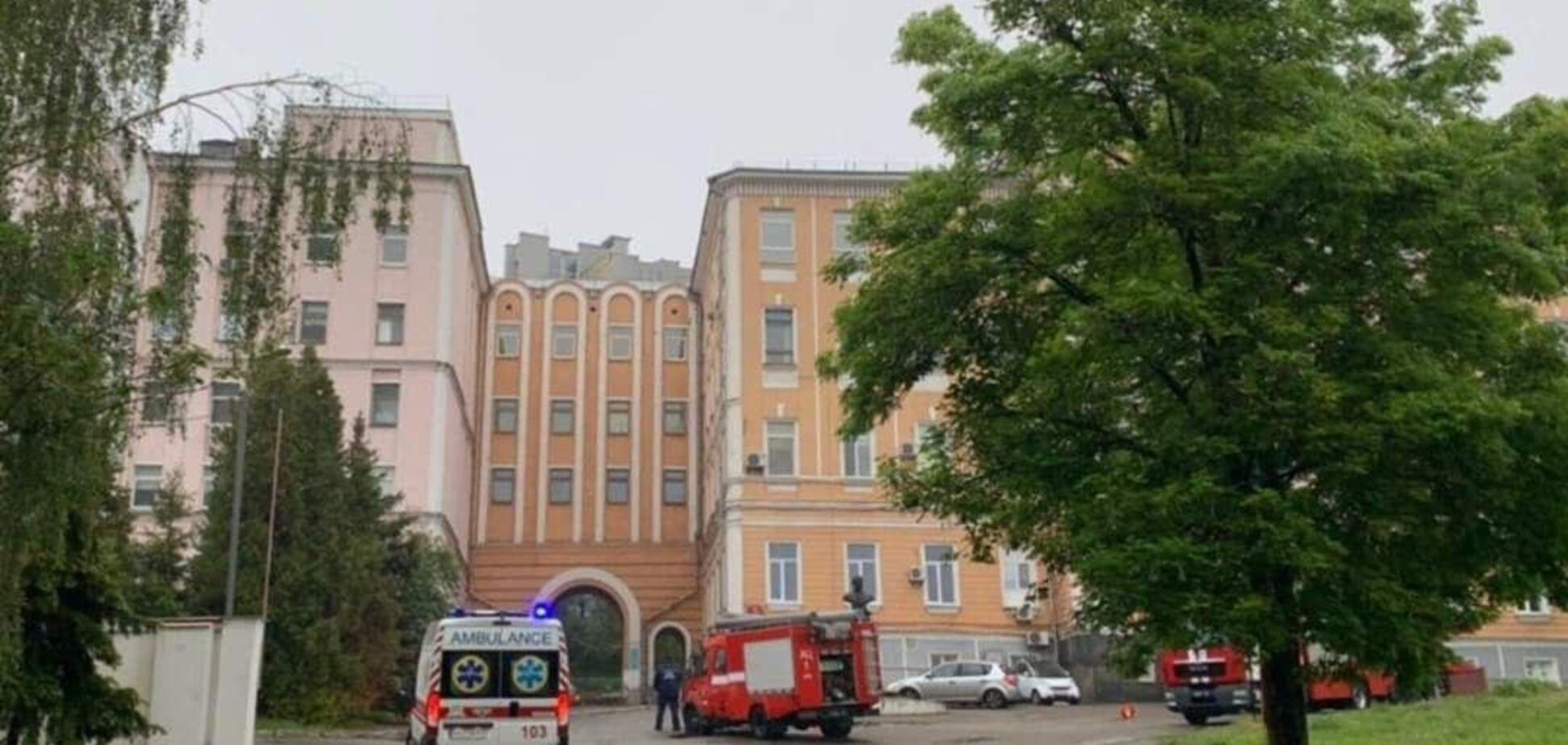 Пожежа в Олександрівській лікарні: головна лікарка заявила про навмисний підпал