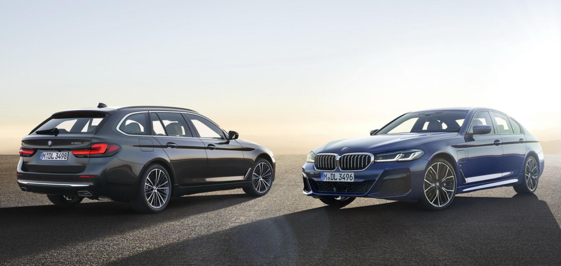 BMW офіційно презентував оновлену 5 Series