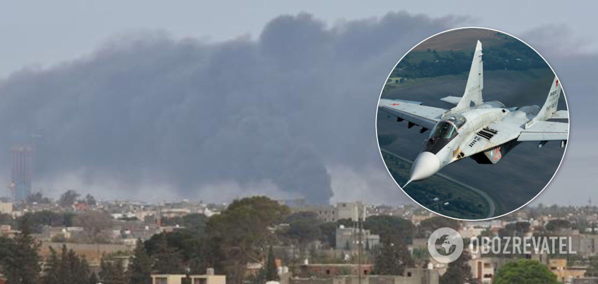 РФ перебросила в Ливию десятки истребителей: Пентагон отреагировал