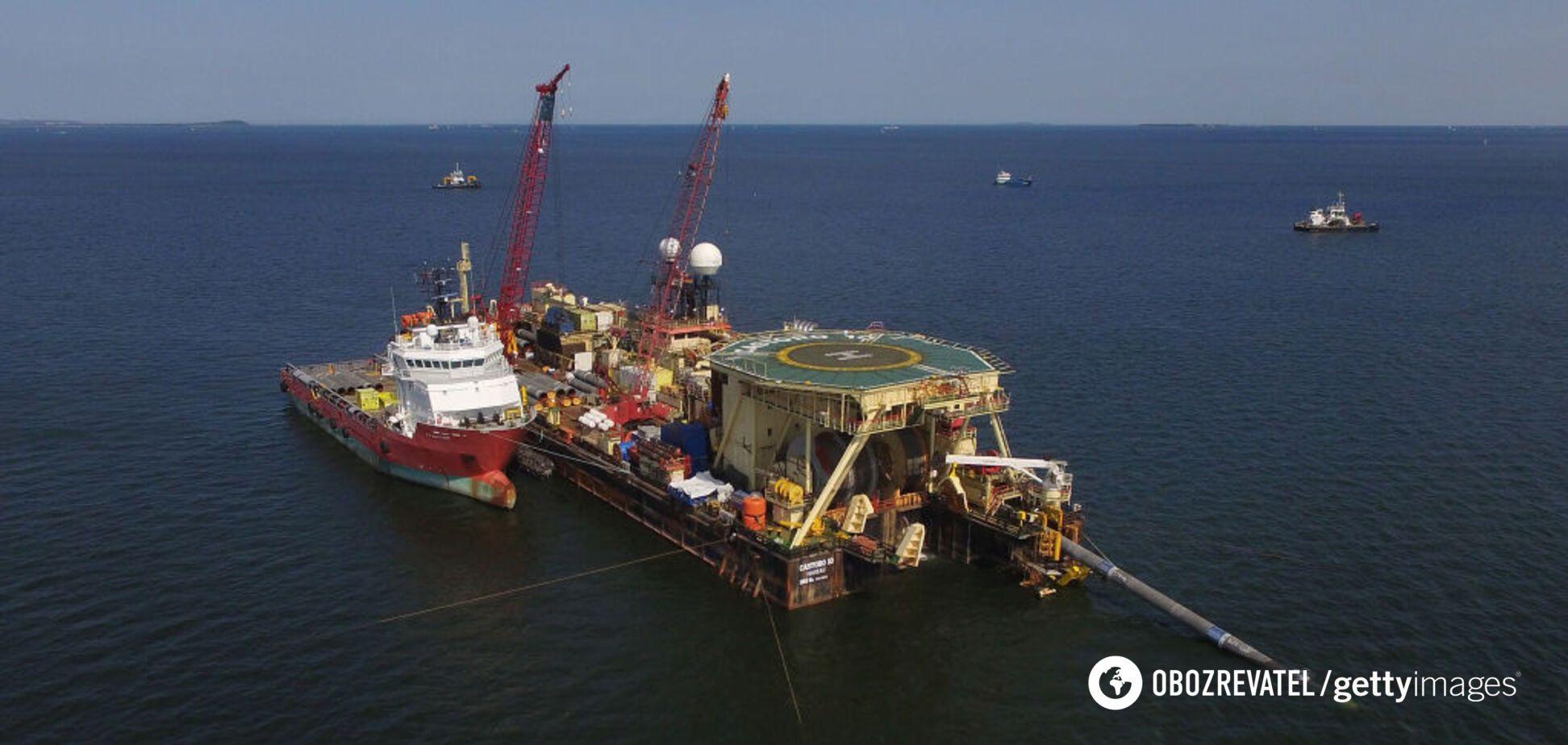 'Северный поток-2' и 'Газпром' оказались под угрозой новых американских санкций