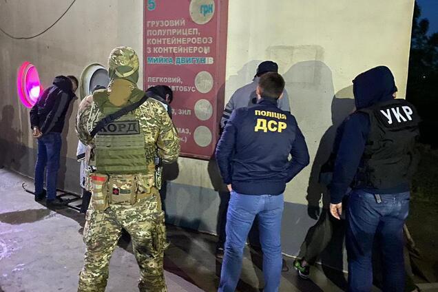 Задержание банды киллеров в Одессе