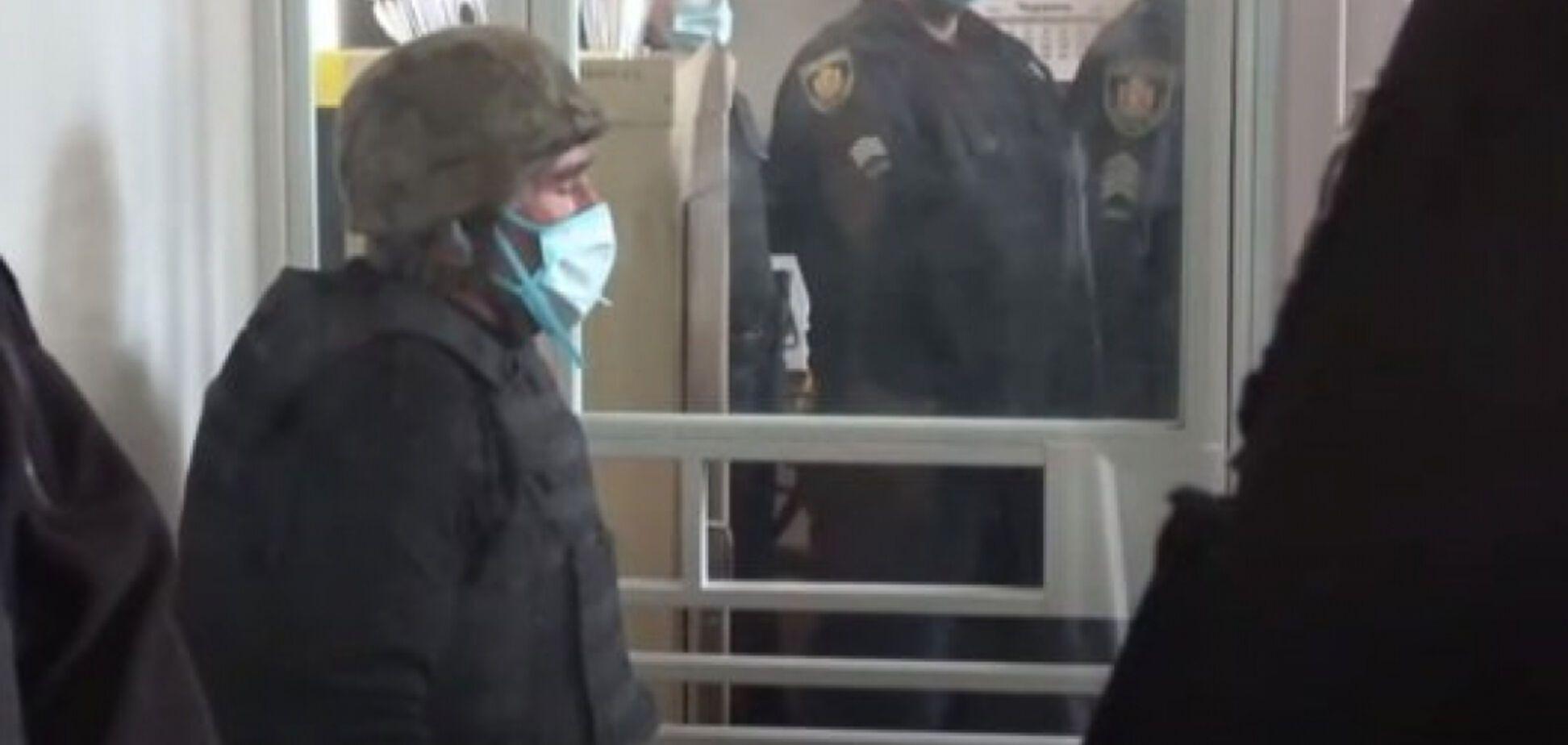 Анатолий Захаренко на заседании суда