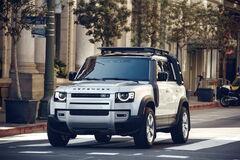 Новый Land Rover Defender прибыл в Украину