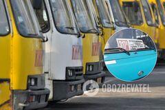 В Киеве водитель маршрутки грубо отказал в проезде ветерану АТО