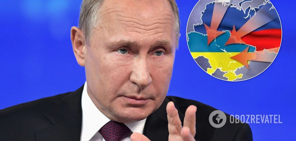 Путин хотел разделить Украину по Днепру к 2020 году – генерал