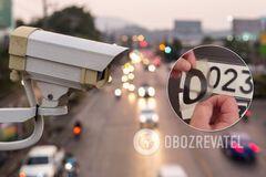 Порушення ПДР в Україні зніматимуть на фото й відео: в МВС розвінчали міф про плівку на номерах