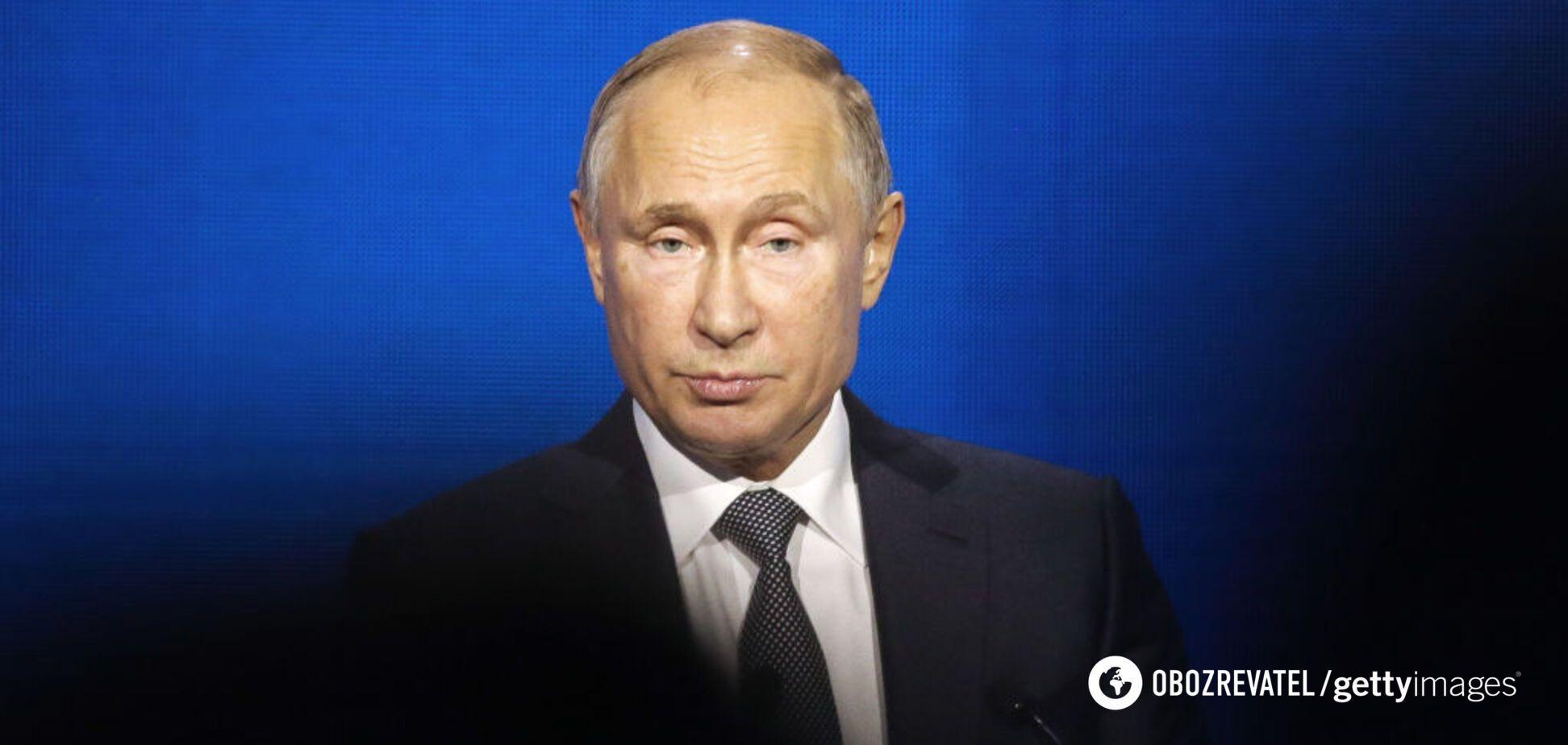 Путин оказался в очень невыгодном положении