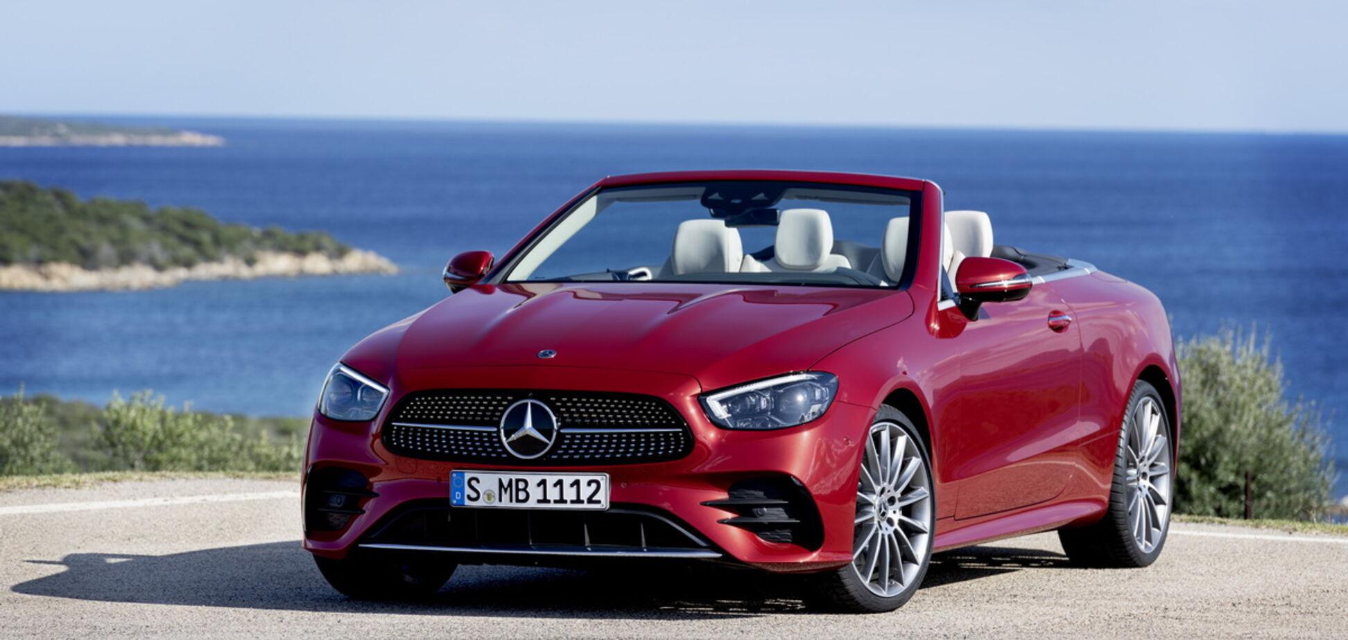 Mercedes-Benz презентовал купе и кабриолет E-Class