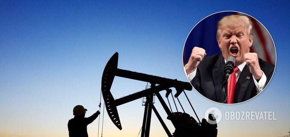 Цены на нефть упали из-за противостояния Китая и США