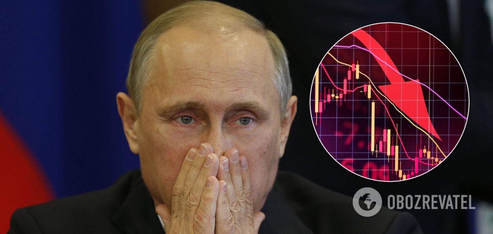 У Росії підрахували падіння ВВП через нафтову війну і коронакризу