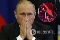 В России подсчитали падение ВВП из-за нефтяной войны и коронакризиса